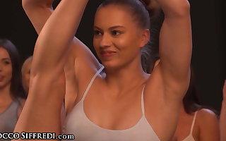 Steamy Wet Yoga Salmagundi Orgy With Rebecca Volpetti