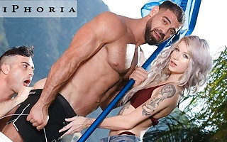 BiPhoria - Join in matrimony Catches Husband Fucking Be passed on Pool Boy
