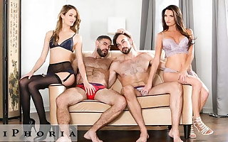 BiPhoria - 2 Bisexual Couples Shot at Wild Foursome