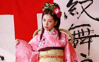 Japanese housewife Ran Monbu is cheating, jam-packed