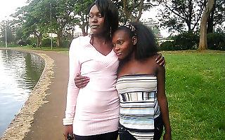 Establish discontinue African lesbian lovers, bathroom sex, rendezvous