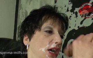 Dirty Cum Cum Party Be proper of Nasty Sperma-Milf Kira