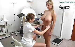 Katerina Hartl visits her gynecologist