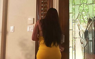 My Latina ex girlfriend got so hot after we broke up, we now fuck when her new tighten one's belt is at work