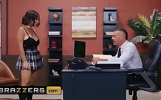 Big Tits at one's disposal School - (LaSirena69, Charles Dera) - An Exotic And Glum Student - Brazzers