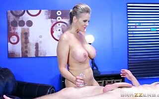 : Brazzers - Alena Croft takes a cock in her botheration