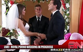 The Royal Porno Wedding Take-off - (Madelyn Marie, Ramon) - BRAZZERS