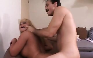 Tow-haired mollycoddle fucked hard