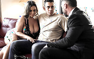 Husband shares his tremendous boobs tie the knot Natasha Nice with pupil